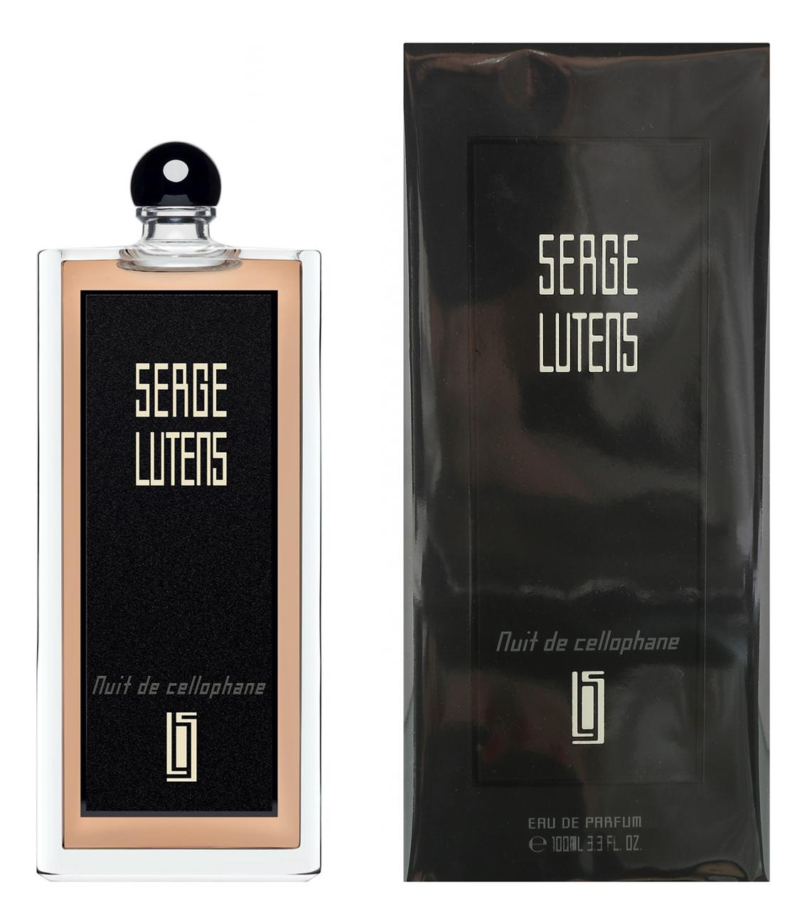 Nuit de Cellophane: парфюмерная вода 100мл serge lutens rose de nuit парфюмерная вода 75мл