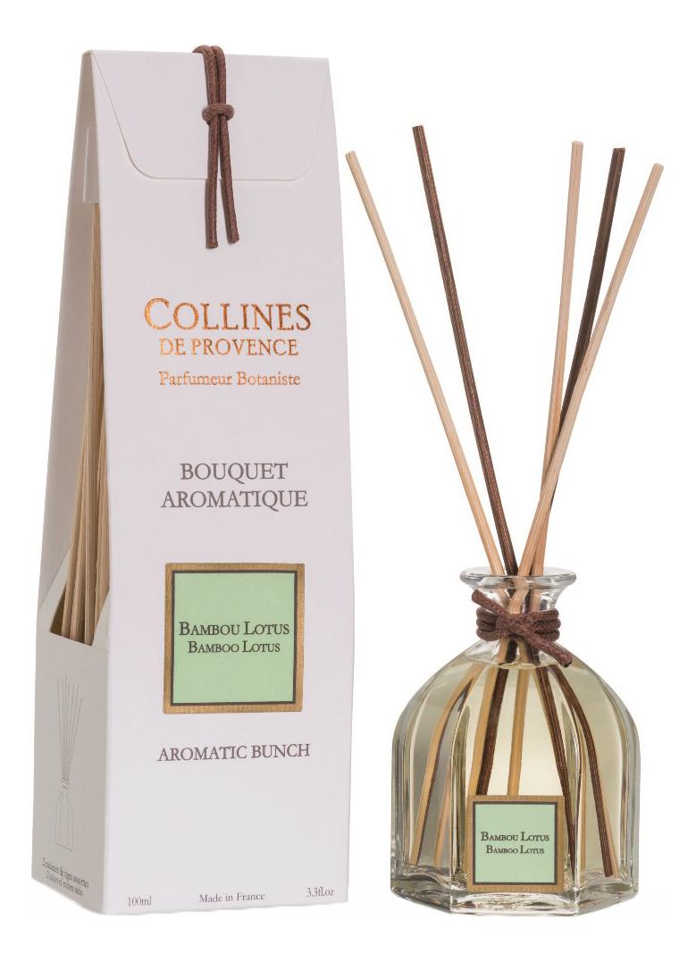 Купить Ароматический диффузор Les Naturelles 100мл: Bamboo Lotus, Collines de Provence
