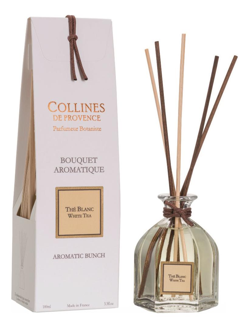 Купить Ароматический диффузор Les Naturelles 100мл: White Tea, Collines de Provence