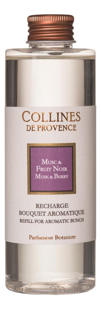 Купить Наполнитель для диффузора Les Naturelles 200мл: Musk & Berry, Collines de Provence