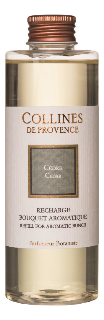 Купить Наполнитель для диффузора Les Naturelles 200мл: Cedar, Collines de Provence
