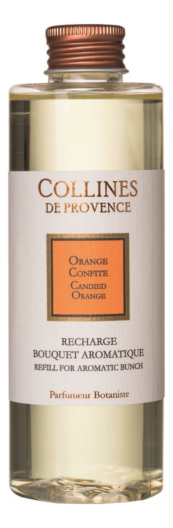 Купить Наполнитель для диффузора Les Naturelles 200мл: Candied Orange, Collines de Provence