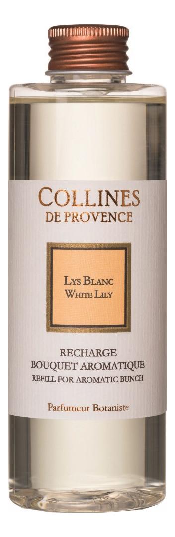 Купить Наполнитель для диффузора Les Naturelles 200мл: White Lily, Collines de Provence