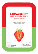 Wims8 Маска для лица с экстрактом клубники Strawberry Daily Mask
