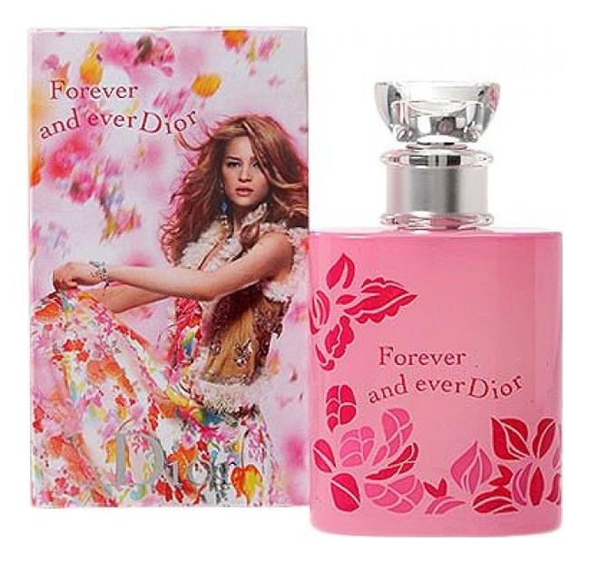 Forever And Ever Dior 2006: туалетная вода 50мл (девушка в жилетке) joy forever туалетная вода 50мл