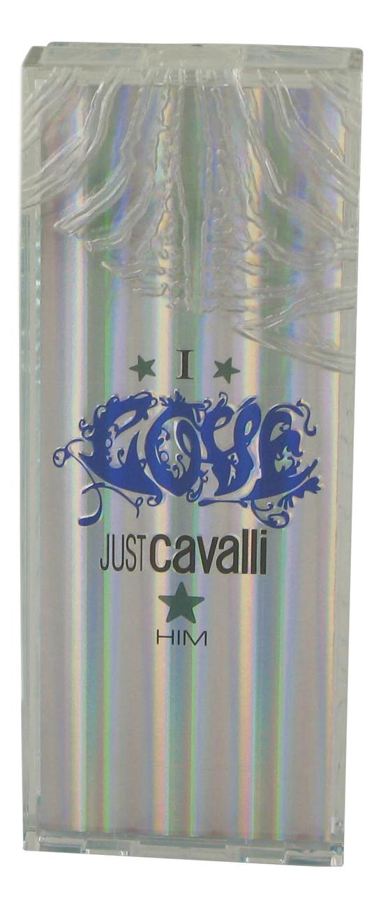 цена Roberto Cavalli Just Cavalli I Love Him: туалетная вода 60мл тестер онлайн в 2017 году
