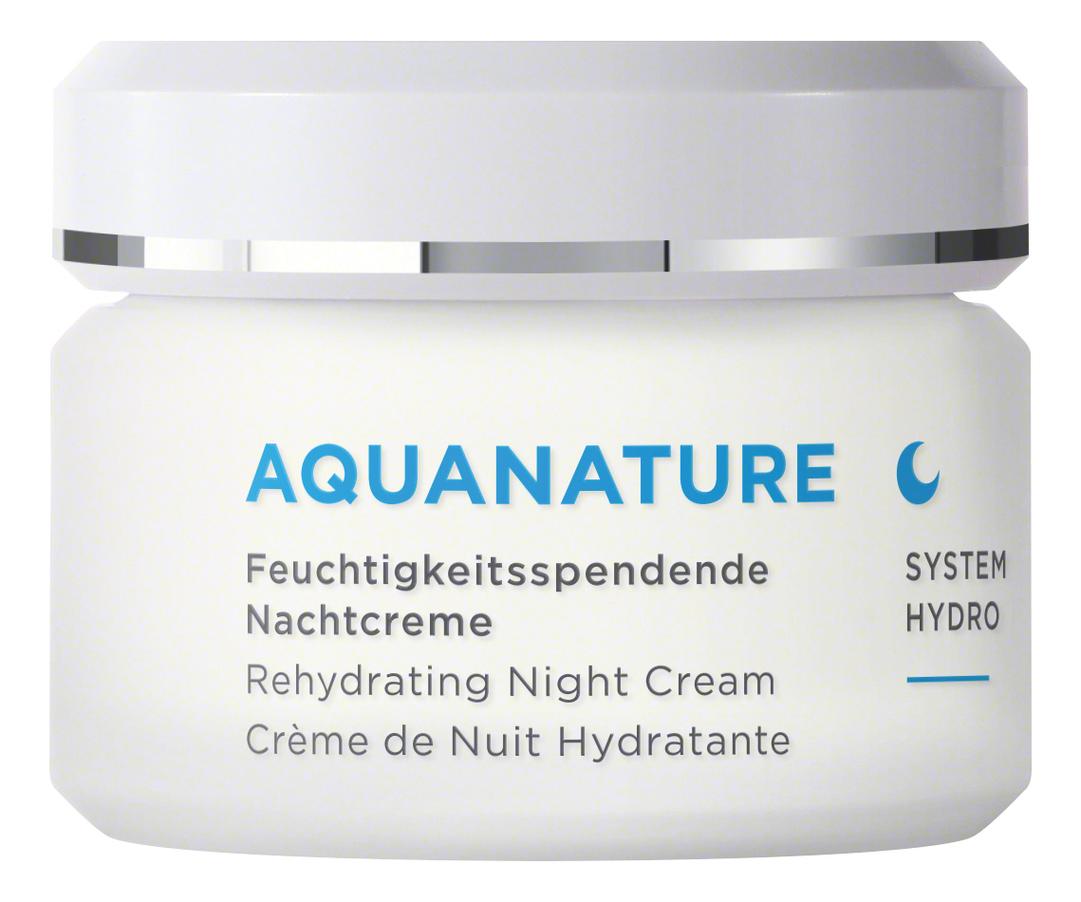 Купить Увлажняющий ночной крем для лица Aquanature Rehydrating Night Cream 50мл, Annemarie Borlind