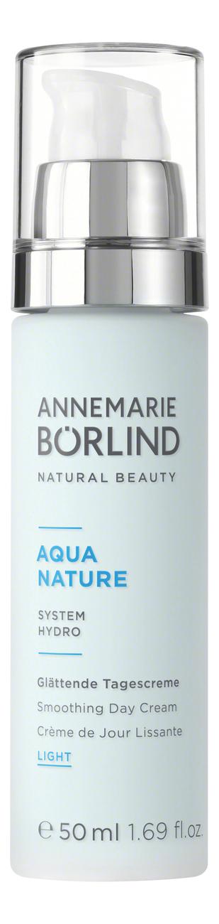 Купить Легкий разглаживающий дневной крем для лица Aquanature Smoothing Day Cream Light 50мл, Annemarie Borlind