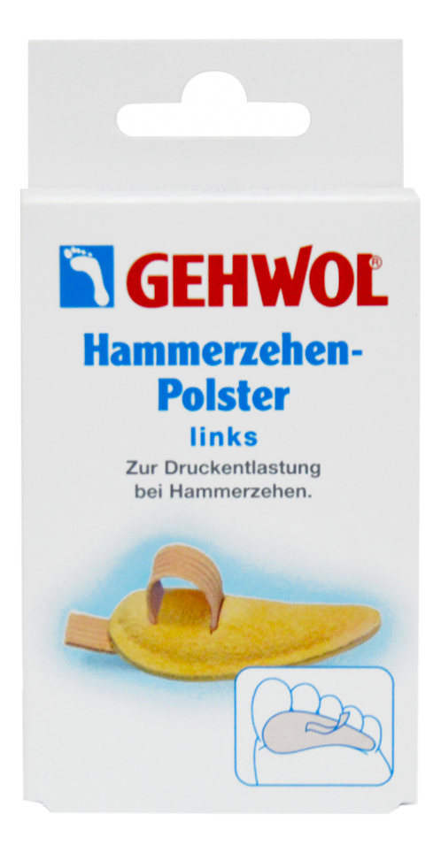 Купить Левая маленькая, Подушка под пальцы Hammerzehen-Polster 1шт, Gehwol