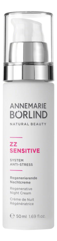 Купить Крем для лица ночной восстанавливающий ZZ Sensitive Regenerative Night Cream 50мл, Annemarie Borlind