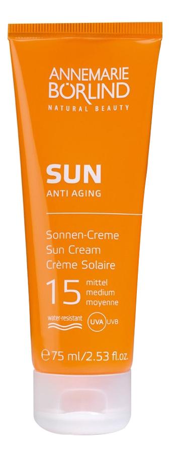 Крем антивозрастной солнцезащитный Anti Aging Sun Cream SPF15 75мл
