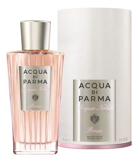 Acqua di Parma Acqua Nobile Rosa: туалетная вода 75мл acqua di parma rosa nobile парфюмерная вода