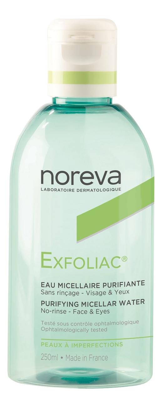 Очищающая мицеллярная вода ЭКСФОЛИАК Purifying No Rinse Cleanser: Вода 250мл эксфолиак акномега 100 купить москва
