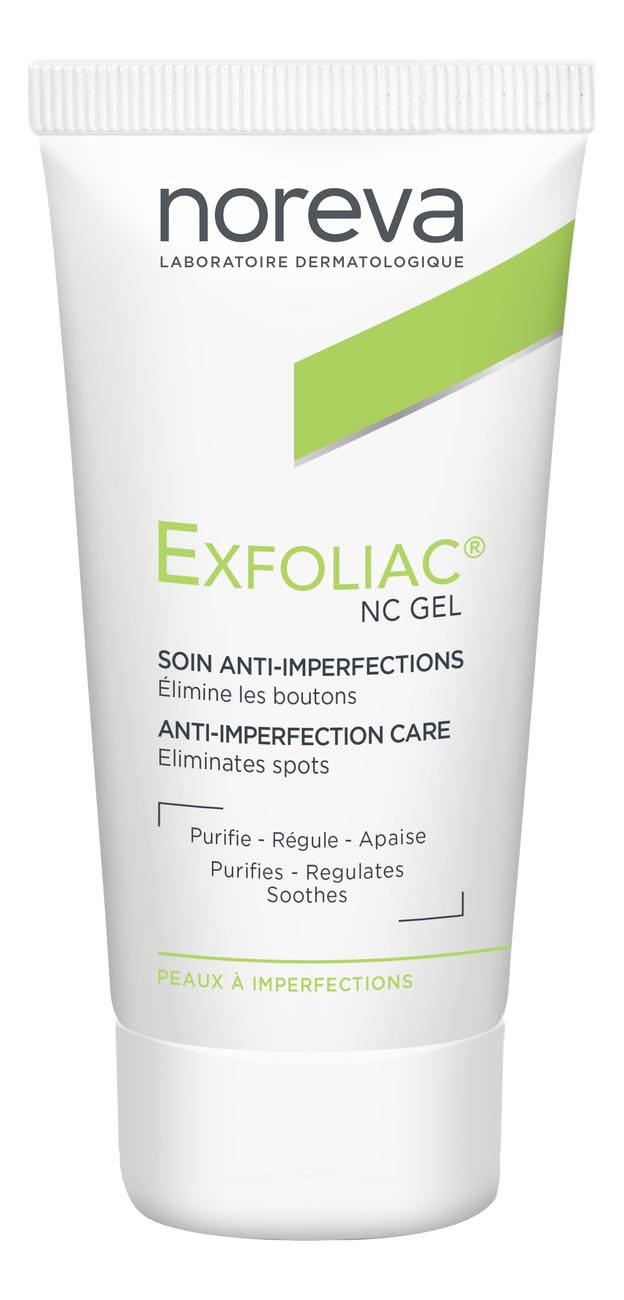 Гель для проблемной кожи Локальный уход Exfoliac NC Gel Local Care 30мл noreva exfoliac gel doux nettoyant purifiant