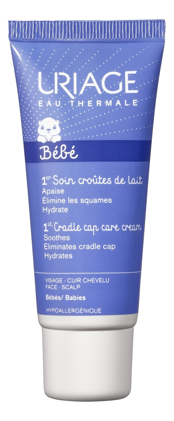 Крем от молочных корочек для кожи головы Bebe 1er Soin Croutes De Lait 40мл mustela шампунь пенка bebe от молочных корочек для новорожденных 150 мл