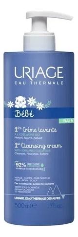 Очищающий пенящийся крем для детей и новорожденных Bebe 1ere Creme Lavante: Крем 500мл
