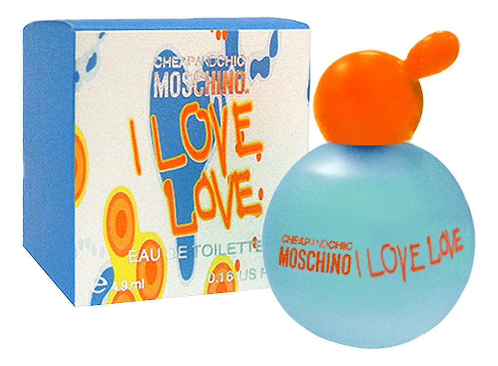 Moschino Cheap and Chic I Love Love: туалетная вода 4,9мл