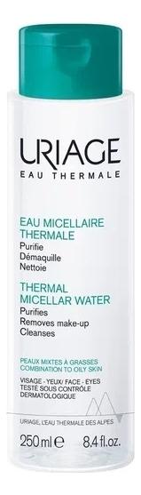 Фото - Мицеллярная вода для жирной и комбинированной кожи Eau Thermale Micellaire: Вода 250мл uriage мицеллярная вода очищающая для жирной и комбинированной кожи 500 мл