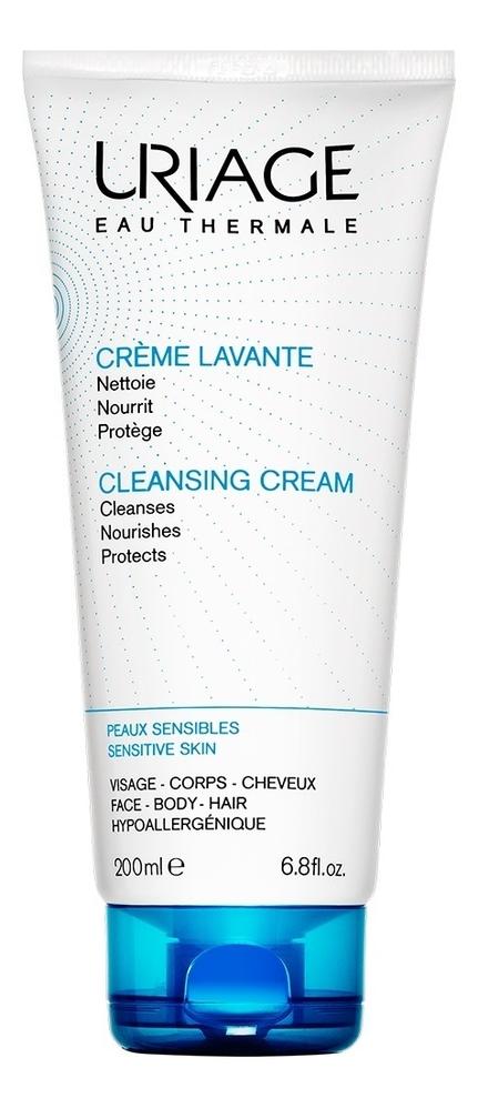 Очищающий пенящийся крем Eau Thermale Creme Lavante: Крем 200мл