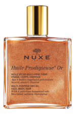 NUXE Золотое масло для лица, тела и волос Huile Продижьёз Or Multi-Purpose Dry Oil