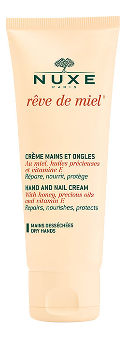 Купить Крем для рук и ногтей РЭВ ДЕ МЬЕЛЬ Miel Hand And Nail Cream: Крем 50мл, NUXE