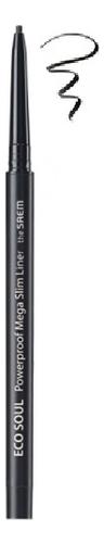 Купить Подводка для глаз тонкая Eco Soul Powerproof Mega Slim Liner 0, 07г: 01 Deep Black, The Saem