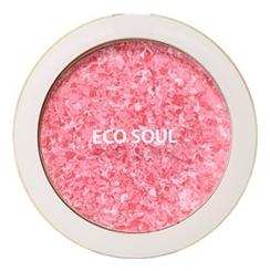 Румяна компактные Eco Soul Carnival Blush 9,5г: 01 Rose