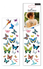 Miami Tattoos Набор тату для тела Butterflies