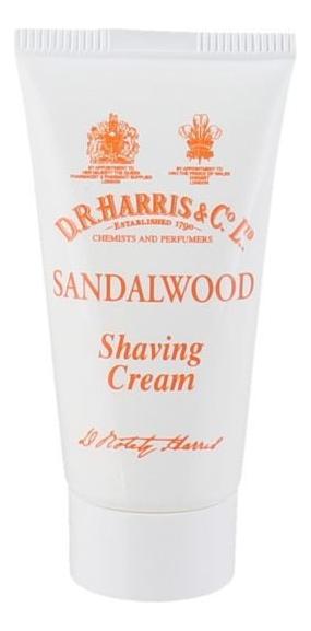 Крем для бритья в тюбике Shaving Cream 75г: Sandalwood (сандаловое дерево) шампунь в тюбике