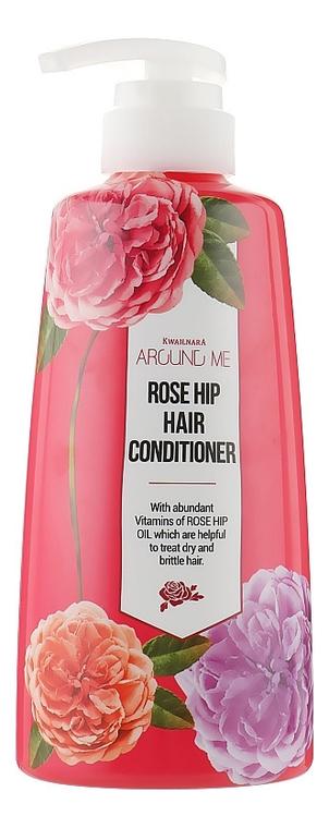 Кондиционер для волос с маслом шиповника Around Me Rose Hip Hair Conditioner 500мл недорого