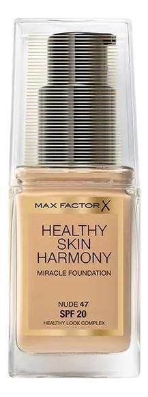 Тональная основа Healthy Skin Harmony Miracle Foundation SPF20 30мл: 47 Nude