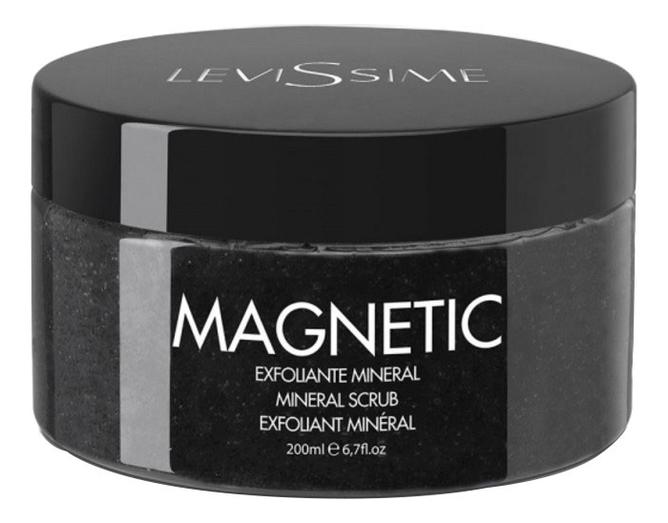 Минеральный скраб для лица с лунным камнем Magnetic Mineral Scrub 200мл недорого