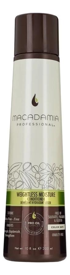 Увлажняющий кондиционер для волос Professional Weightless Moisture Conditioner: Кондиционер 300мл macadamia macadamia кондиционер увлажняющий для тонких волос 300 мл