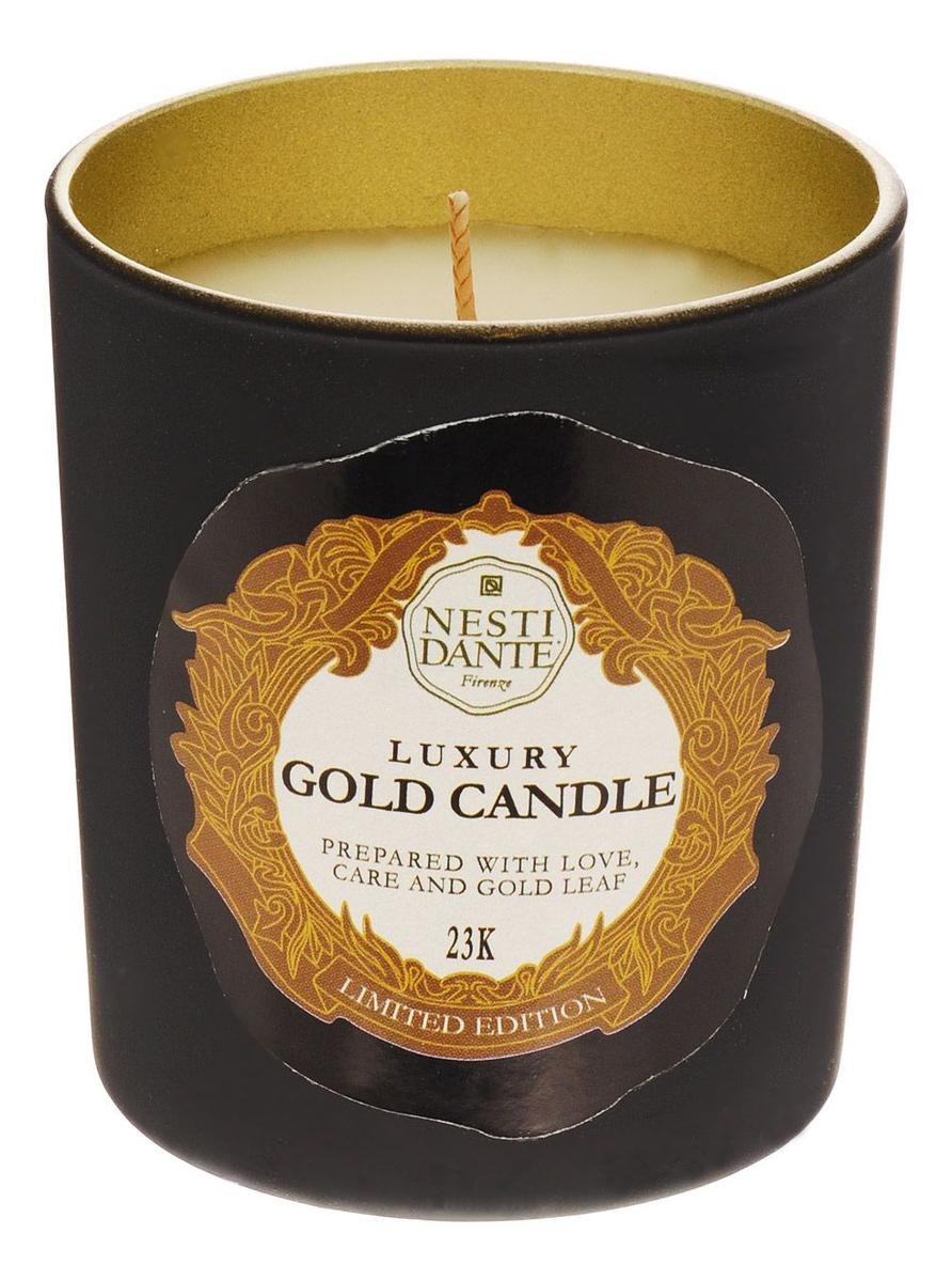 Ароматическая свеча 60th Anniversary Luxury Gold 160г (юбилейная золотая)