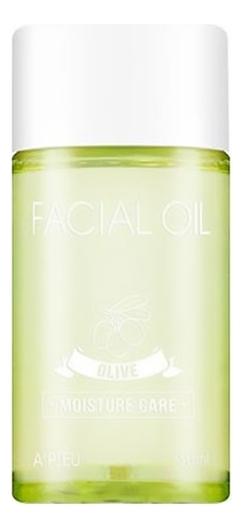 Увлажняющее оливковое масло для сухой кожи лица Olive Facial Oil Moisture Care 50мл