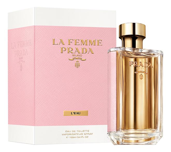 Купить La Femme Prada L'Eau: туалетная вода 100мл