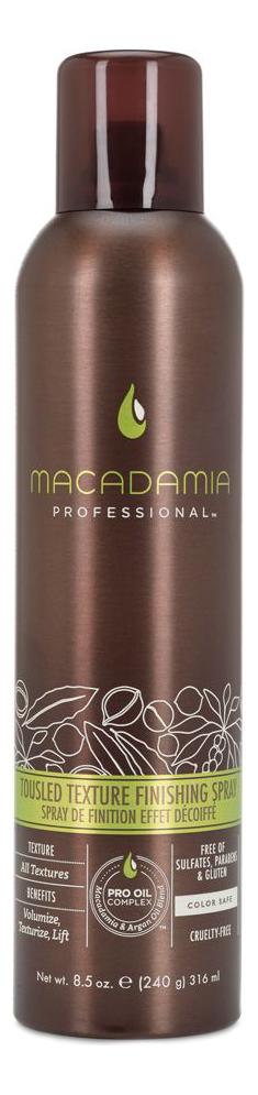 Финиш-спрей для волос Professional Tousled Texture Finishing Spray: Финиш-спрей 316мл loreal professional volumetry спрей