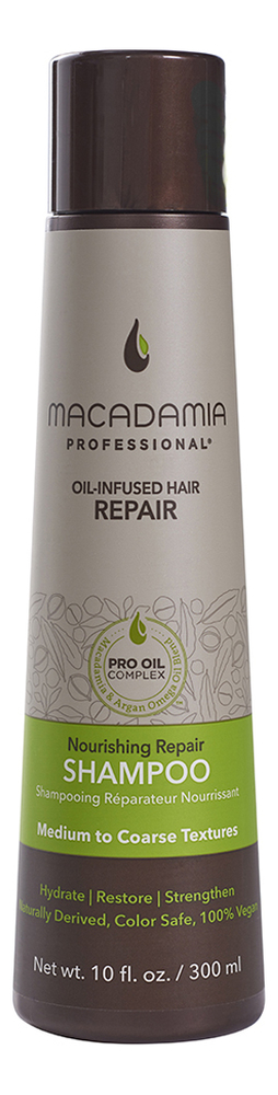Питательный шампунь для всех типов волос Professional Nourishing Moisture Shampoo: Шампунь 300мл