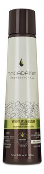 Увлажняющий шампунь для тонких волос Professional Weightless moisture Shampoo: Шампунь 100мл macadamia macadamia кондиционер увлажняющий для тонких волос 300 мл