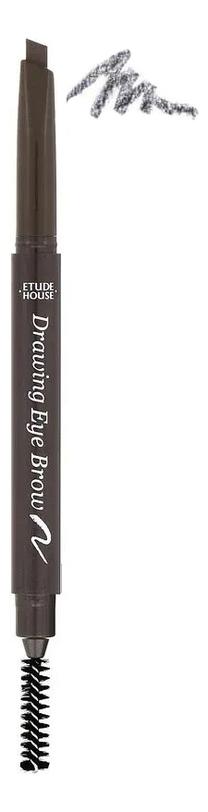 Купить Двойной карандаш для бровей Drawing Eye Brow Duo 0, 3г: 04 Red Brown, Etude House