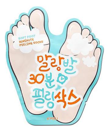 Пилинг-носочки для ног Soft Foot 30 Minute Peeling Socks 40мл
