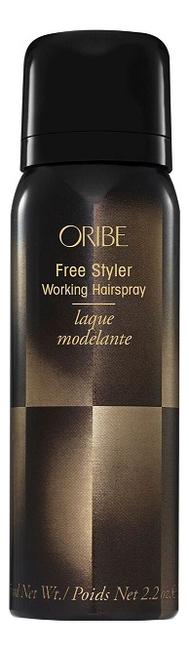 Спрей для подвижной фиксации волос Свобода стиля Free Styler Working Hairspray: Спрей 75мл sland 139207 red