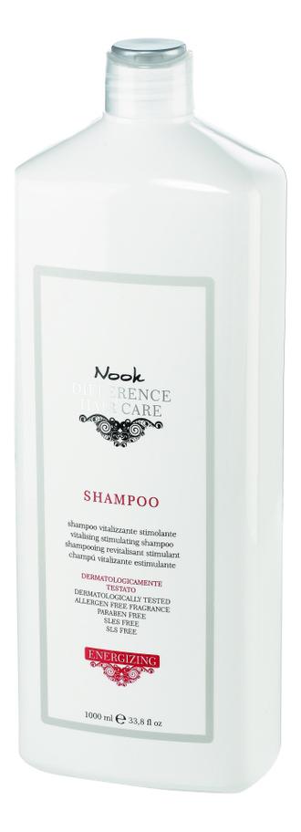 Шампунь от выпадения волос Ph 5,5 Different Hair Care Vitalizing Stimulating Shampoo: Шампунь 1000мл ducray неоптид лосьон от выпадения волос для мужчин 100 мл