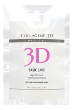 Medical Collagene 3D Альгинатная маска для лица и тела Basic Care Professional Line Alginate Mask