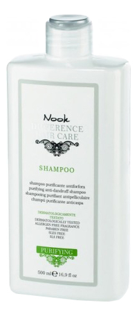 Купить Шампунь от перхоти Ph 5, 5 Difference Hair Care Purifying&Anti-Dandruff Shampoo: Шампунь 500мл, 5 Difference Hair Care Purifying&Anti-Dandruff Shampoo, Nook