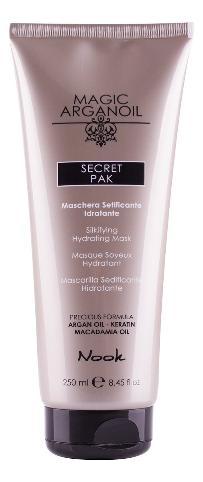 Купить Маска для волос увлажняющая Магия арганы Magic Arganoil Secret Pak: Маска для волос 250мл, Nook