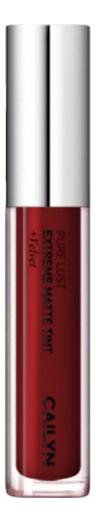 Купить Матовый тинт для губ Pure Lust Extreme Matte Tint + Velvet 3, 5мл: 37 Notable, CAILYN