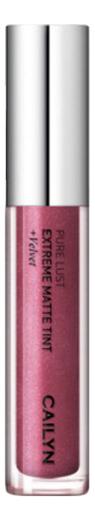 Матовый тинт для губ Pure Lust Extreme Matte Tint + Velvet 3,5мл: 38 Admirable