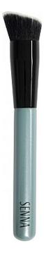 Купить Скошенная кисть для смешивания и нанесения тональной основы Brush Angle Contour No38, SENNA