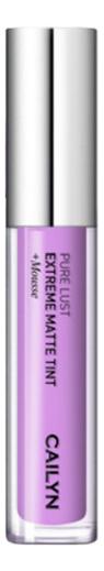 Матовый тинт для губ Pure Lust Extreme Matte Tint + Mousse 3,5мл: 72 Retroactivity матовый тинт для губ pure lust extreme matte tint mousse 3 5мл 76 maturity